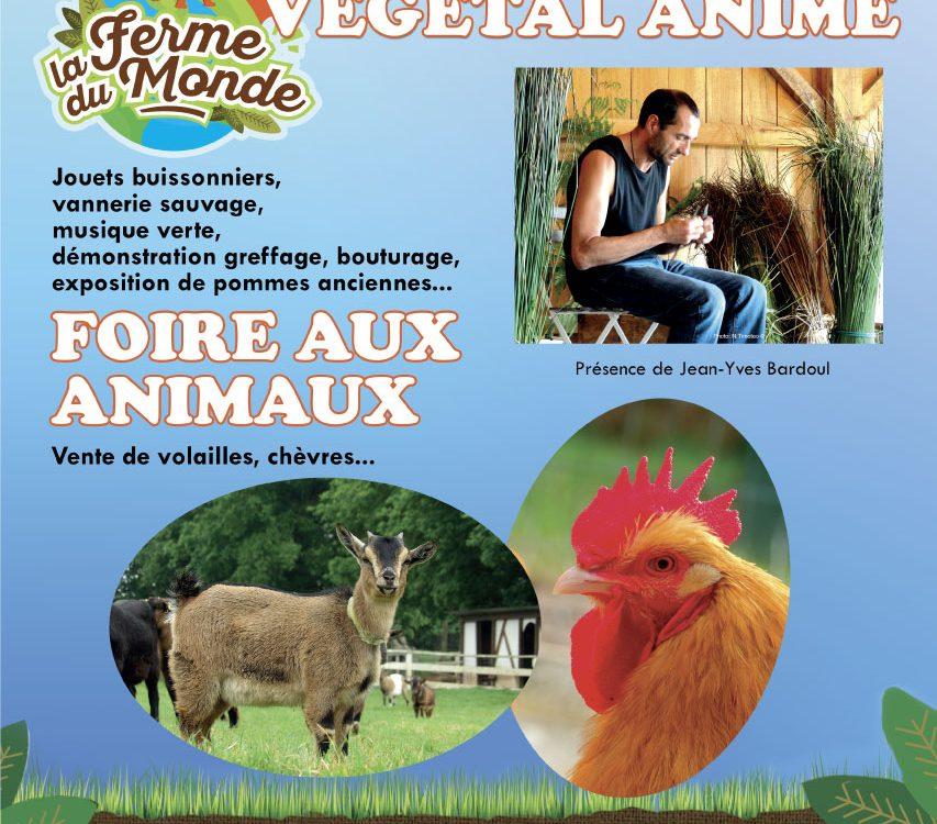 Affiche foire aux animaux